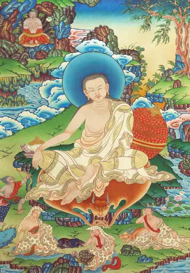 Миларепа йогин тибетский буддизм ваджраяна