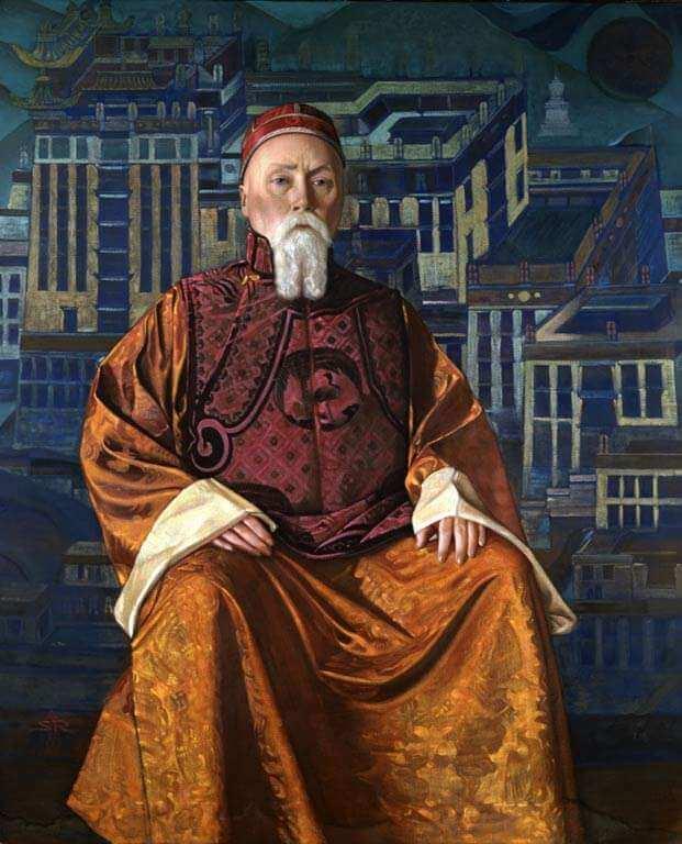Николай Рерих портрет
