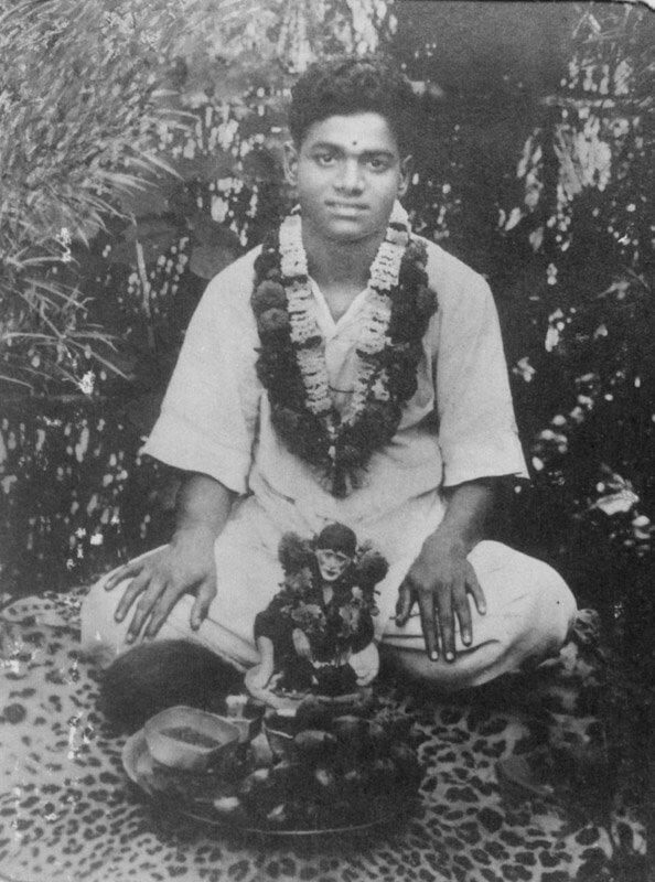 Саи Баба в детстве Сатья Нараяна Раджу